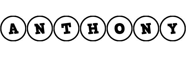 Anthony handy logo