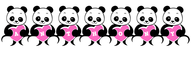 Anthony love-panda logo