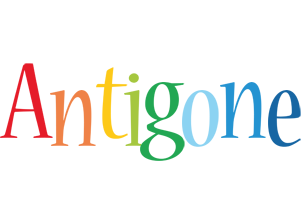 Antigone birthday logo