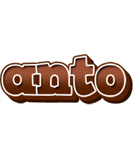 Anto brownie logo