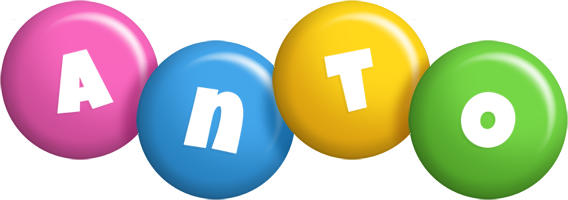 Anto candy logo