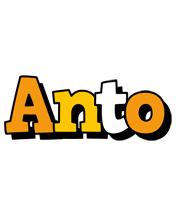 Anto cartoon logo