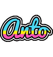 Anto circus logo