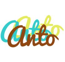 Anto cupcake logo