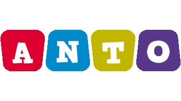 Anto daycare logo