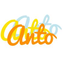 Anto energy logo