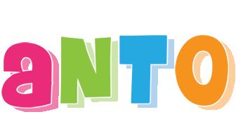 Anto friday logo