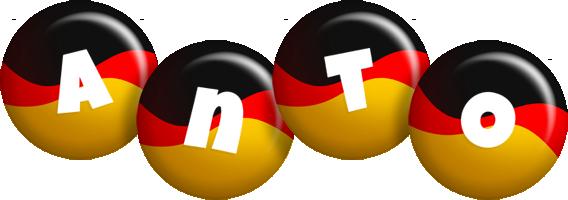Anto german logo
