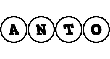 Anto handy logo