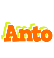 Anto healthy logo