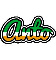 Anto ireland logo