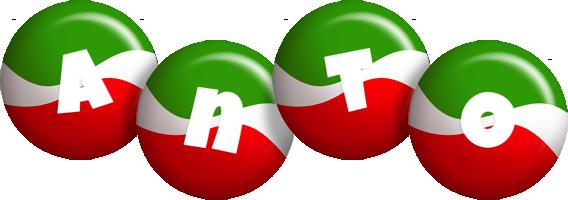 Anto italy logo
