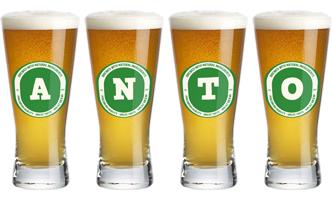 Anto lager logo