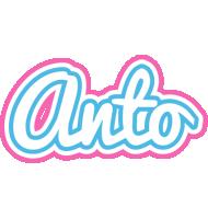 Anto outdoors logo