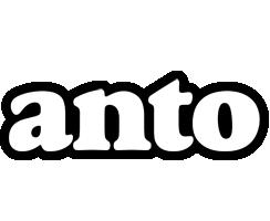 Anto panda logo