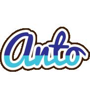 Anto raining logo