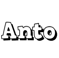 Anto snowing logo