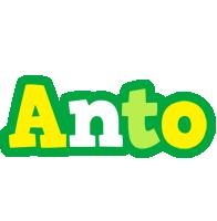 Anto soccer logo