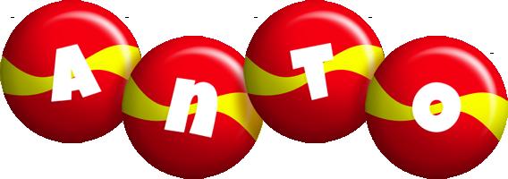 Anto spain logo