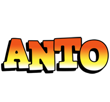 Anto sunset logo