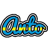 Anto sweden logo