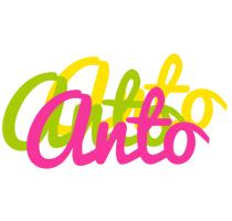 Anto sweets logo