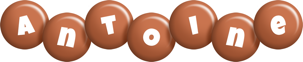 Antoine candy-brown logo