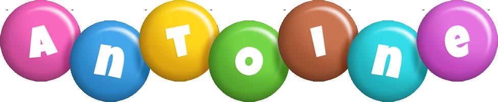 Antoine candy logo
