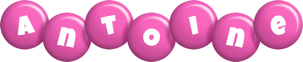Antoine candy-pink logo