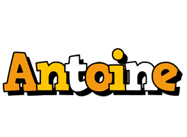 Antoine cartoon logo