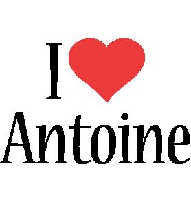 Antoine i-love logo