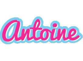 Antoine popstar logo
