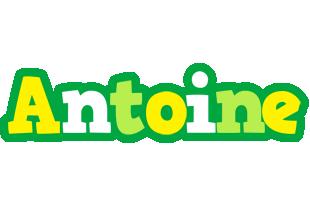 Antoine soccer logo