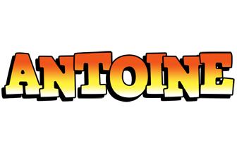 Antoine sunset logo