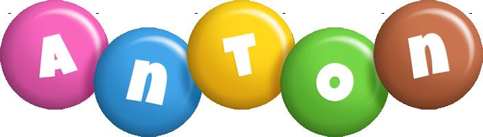 Anton candy logo