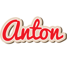 Anton chocolate logo