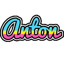 Anton circus logo