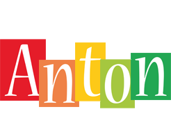 Anton colors logo