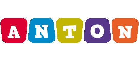 Anton daycare logo