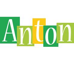 Anton lemonade logo