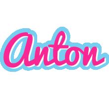Anton popstar logo