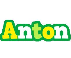 Anton soccer logo