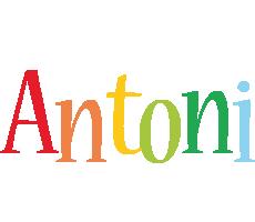 Antoni birthday logo