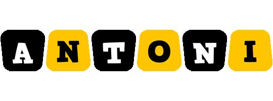 Antoni boots logo