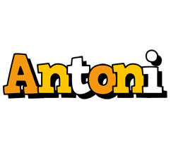 Antoni cartoon logo