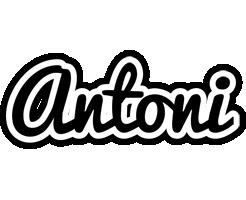 Antoni chess logo