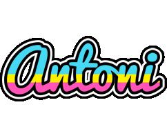 Antoni circus logo