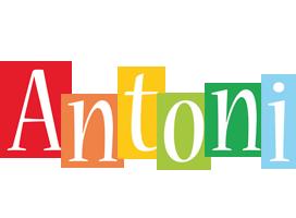 Antoni colors logo