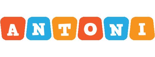 Antoni comics logo