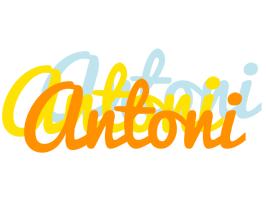 Antoni energy logo